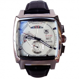 Monaco Men's Watch Black