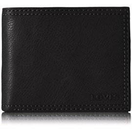 Levi's Men's Wallet-Black