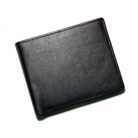 Men's Portable Black Wallets.