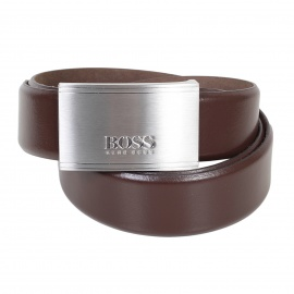 Hugo Boss Men's Belt Brown