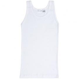 2 Pack Cotton Mens Vests White
