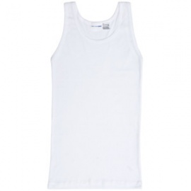 2 Pack Cotton Mens Vests White