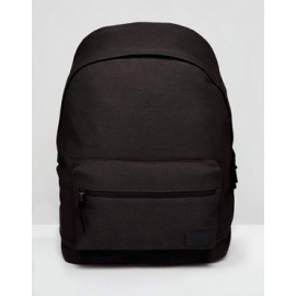 Casual Canvas Solid Backpack