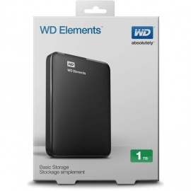 WD External Hard Disk - 1TB