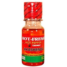 Hot Fresh Pepper Condiment - Akashenda