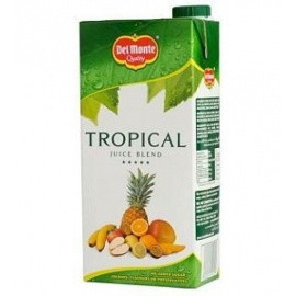 Del Monte Tropical  Juice 1 Ltr