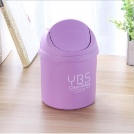 Blue 95litre Lid Dustbin