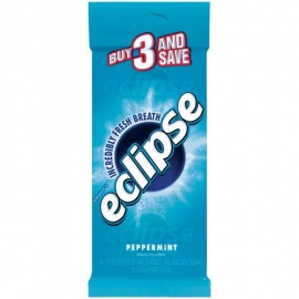 ECLIPSE S/FREE PEPPERMINT GUM