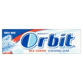 Orbit chewing gum sweetmint 14g
