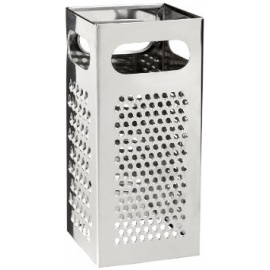 SQUARE STAINLESS GRATER BIG