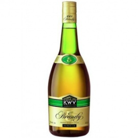 KWV 5YEARS BRANDY 75CL